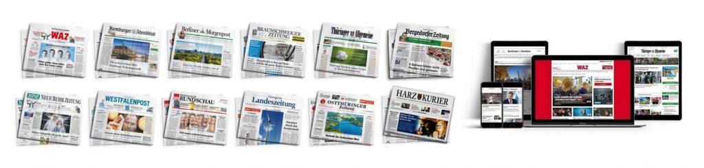 Funke Mediengruppe Newspapers